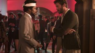 Armie Hammer et Lakeith Stanfield dans « Sorry to Bother You » du réalisateur Boots Riley.
