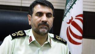 سردار حسین ساجدی نیا فرماندۀ نیروی انتظامی تهران