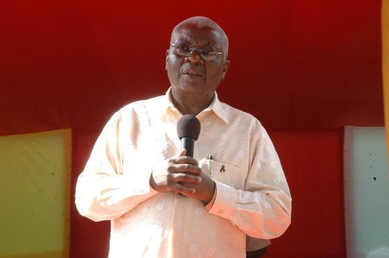 Armando Guebuza, chefe da missão de Observadores da União Africana em São Tomé e Príncipe