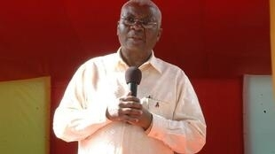 Armando Guebuza, presidente da Frelimo