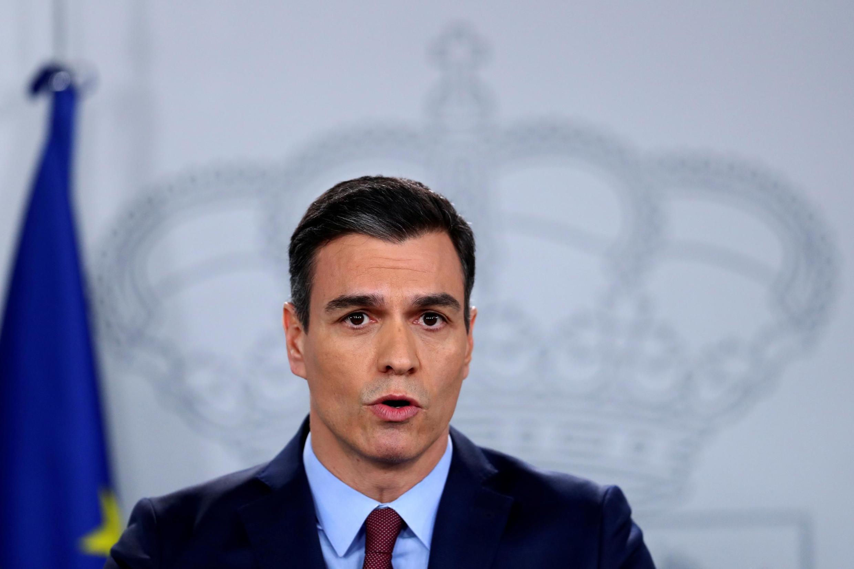 Primeiro-ministro espanhol Pedro Sanchez