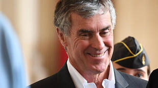 Former budget minister Jérôme Cahuzac, relieved to hear the outcome of his court case.