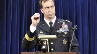 Conférence de presse de Mark Martins, procureur militaire de Guantanamo, le 19 octobre 2012.