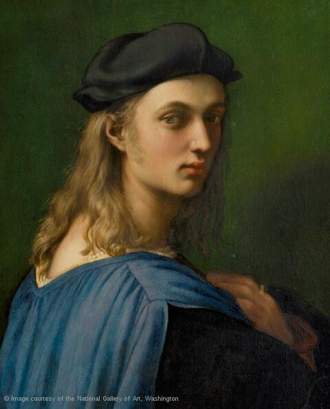 'Retrato de Bindo Altoviti', hacia 1516-1518.