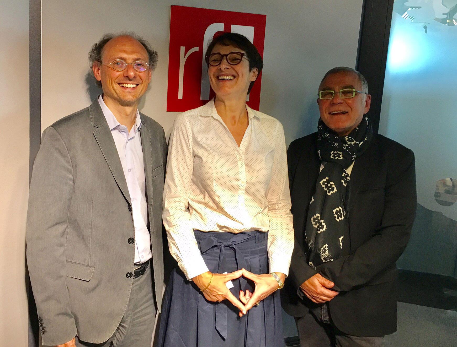 Marc-Olivier Padis, Hélène Miard-Delacroix, Daniel Desesquelle.