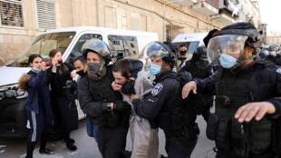 israël jérusalem police pourim