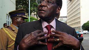 Tsohon shugaban kasar Zimbabwe marigayi Robert Mugabe.