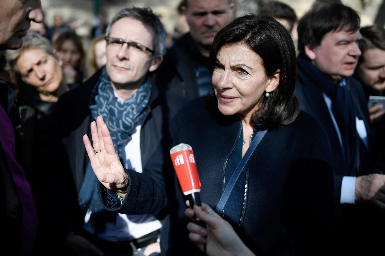 La alcaldesa de Paris, Anne Hidalgo.