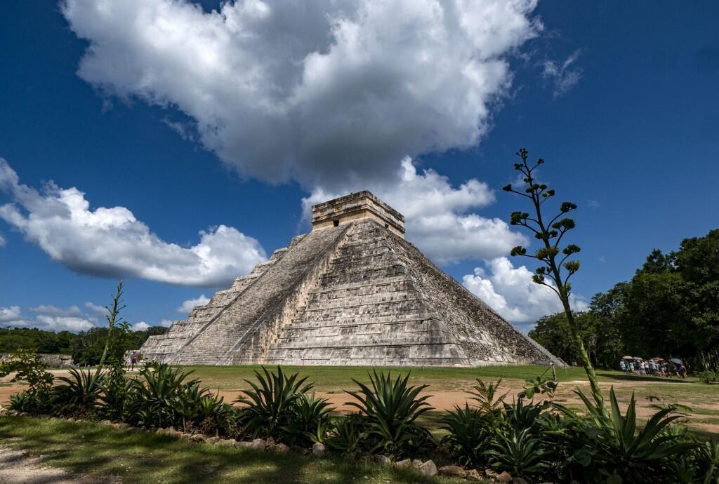 Les ruines de Chichén Itzá