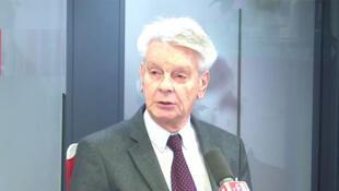 Thượng nghĩ sĩ Alain Richard, cựu bộ trưởng Quốc Phòng Pháp, tại đài RFI ngày 02/12/2019. Ảnh minh họa.
