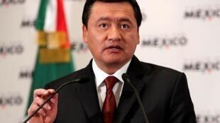 O ministro do Interior mexicano, Miguel Angel Osorio Chong
