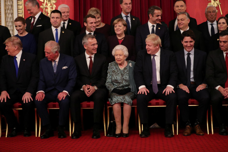 Foto de família da NATO