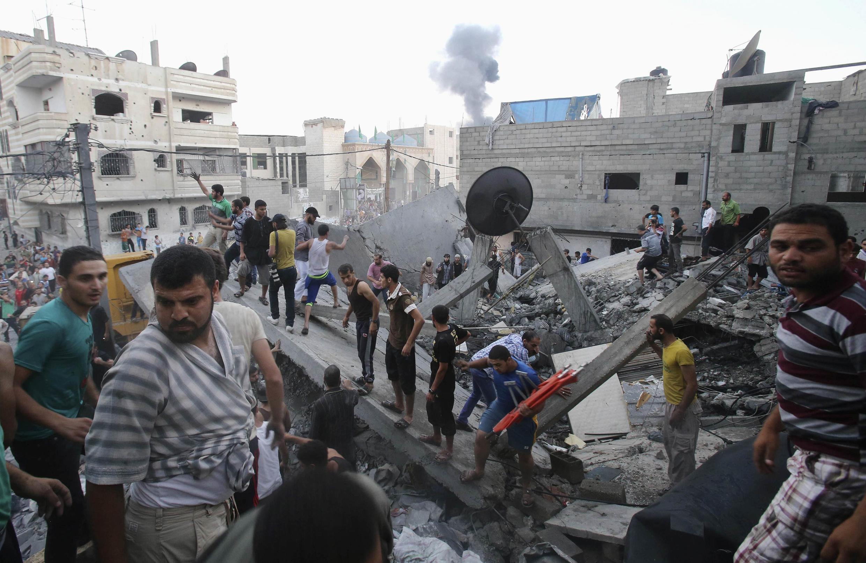 تازه ترین حمله اسرائیل بر نوارغزه امروز جمعه یازدهم زوئیه