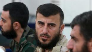 Гибель Захрана Аллуша ставит под вопрос переговоры по Сирии, намеченные ООН. Фото 27/08/2014.