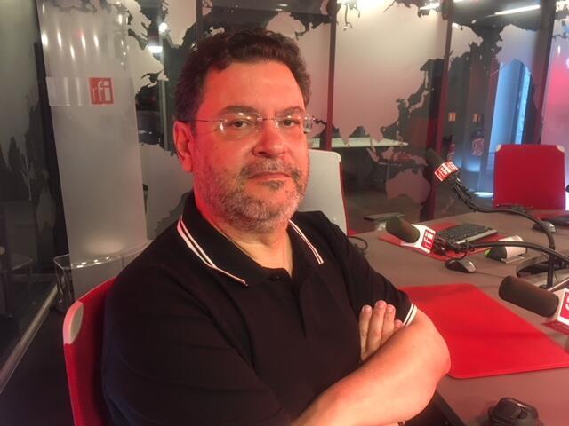 O presidente do Partido da Causa Operária (PCO), Rui Costa Pimenta, nos estúdios da RFI Brasil.