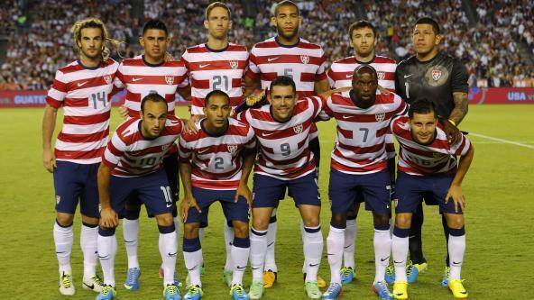 Hoa Kỳ, một trong bốn đội tuyển Bắc - Trung Mỹ lọt vào chung kết Cúp Fifa 2014.