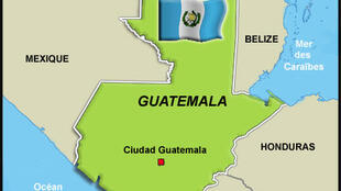 République du Guatemala. Superficie: 108 890 km