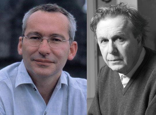 Olivier Frébourg et Jean-Christophe Bailly, co-lauréats du prix Décembre 2011.