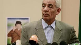 El canciller libio era un estrecho colaborador de Kadafi