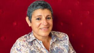Nadia El Fani, réalisatrice franco-tunisienne de «Laïcité Inch'Allah», au 26e Festival international du film francophone de Namur (Belgique).