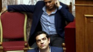 O governo de Alexis Tsipras obteve a aprovação do pacote de medidas 23/07/2015