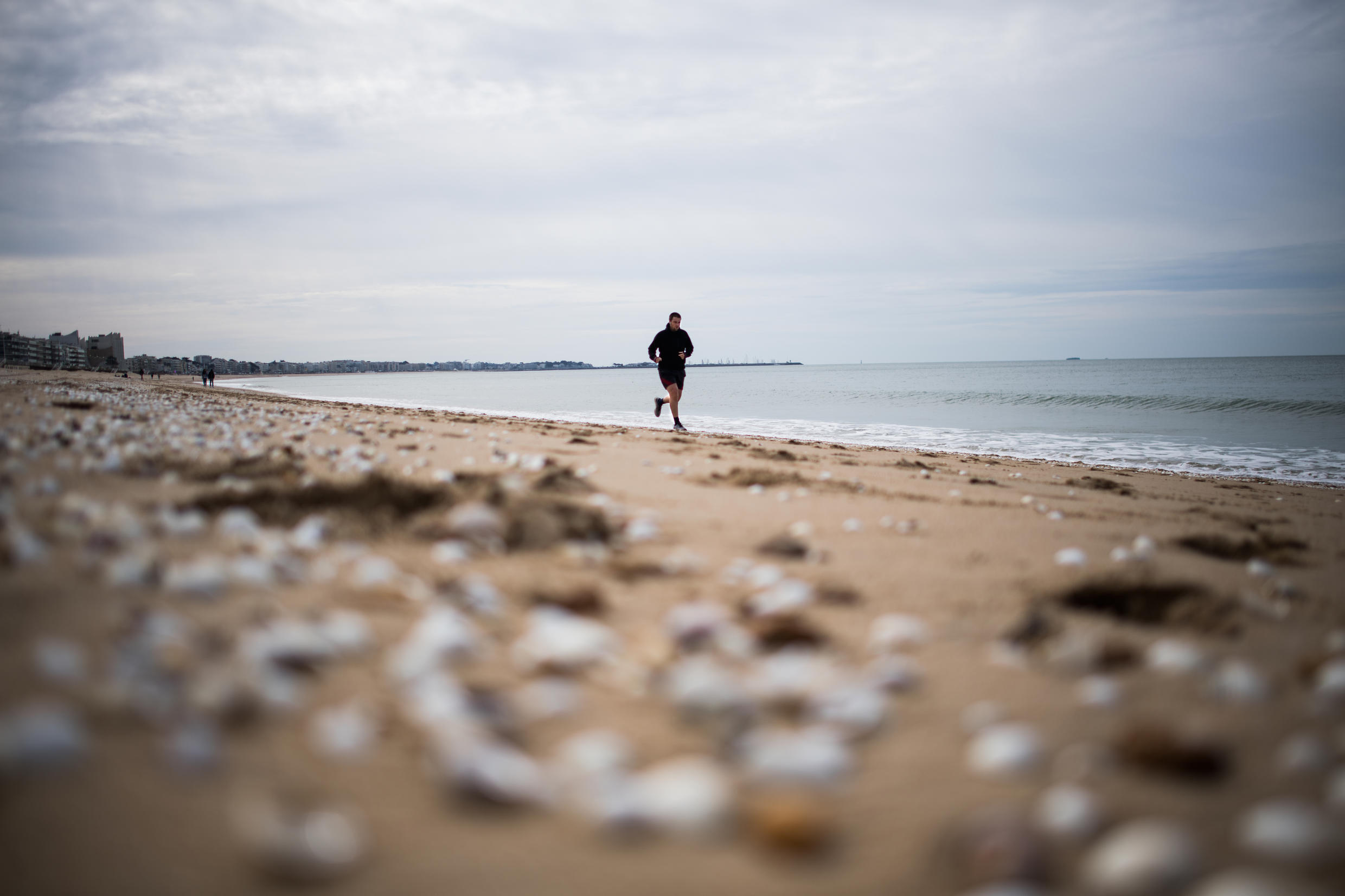 Officials opened some beaches on the west coast of France, but not for static activity such as picnic parties or sunbathing