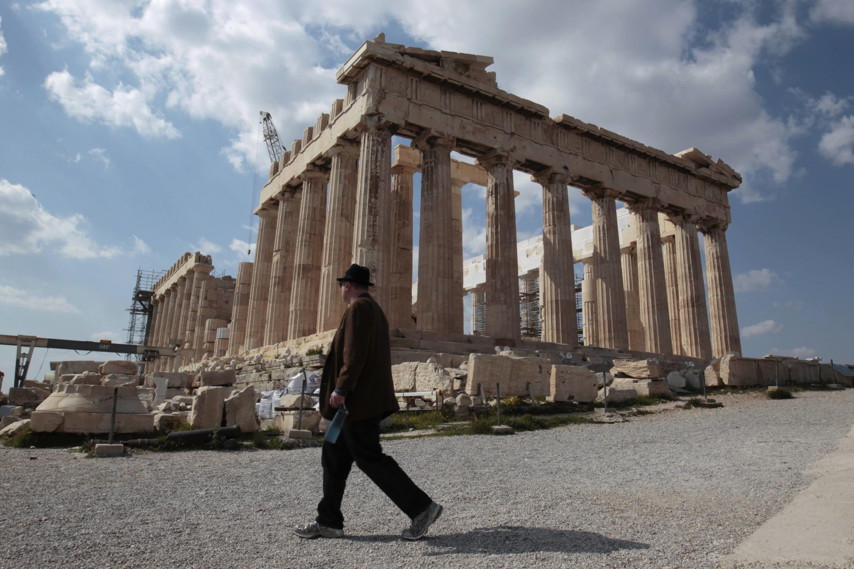 希腊的象征——————雅典卫城