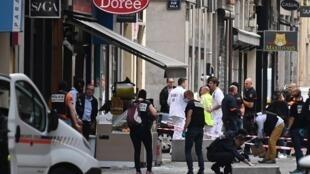 В результате взрыва в Лионе пострадали 14 человек