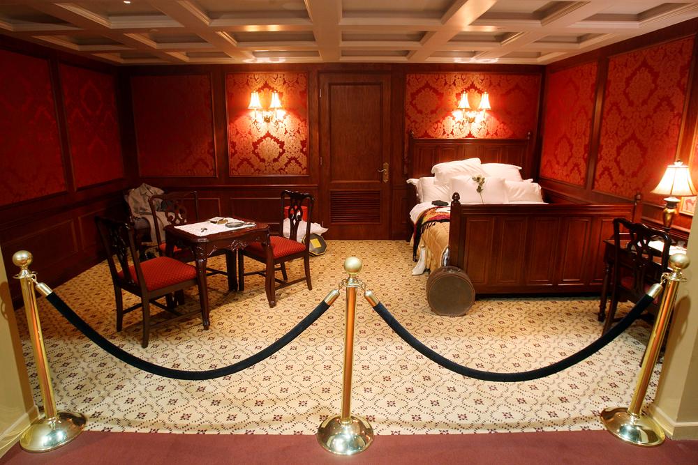First class cabin  in the Titanic