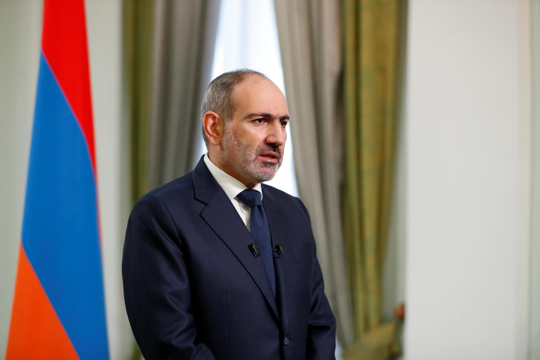 Waziri Mkuu wa Armenia Nikol Pachinian.
