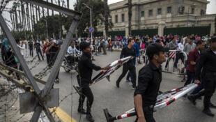 D'après les autorités, l'étudiant avait photographié des policiers devant l'université visée le 22 octobre dernier par un attentat à la bombe.