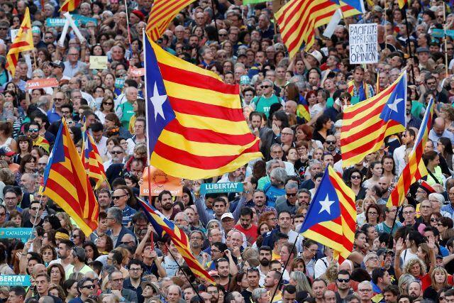 Siyasar kasar Spain dangane da batun Cataloniya