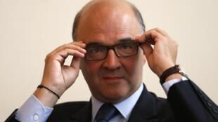 Pierre Moscovici, el ministro francés de Economía y Finanzas.