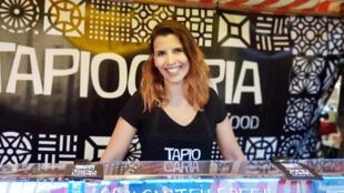 Tapiocas da brasileira Mariana Pitanga fazem sucesso em Berlim, entre alemães e turistas do mundo inteiro.