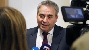 Le président du conseil régional des Hauts-de-France et ancien ministre de la Santé Xavier Bertrand, le 5 février 2020.