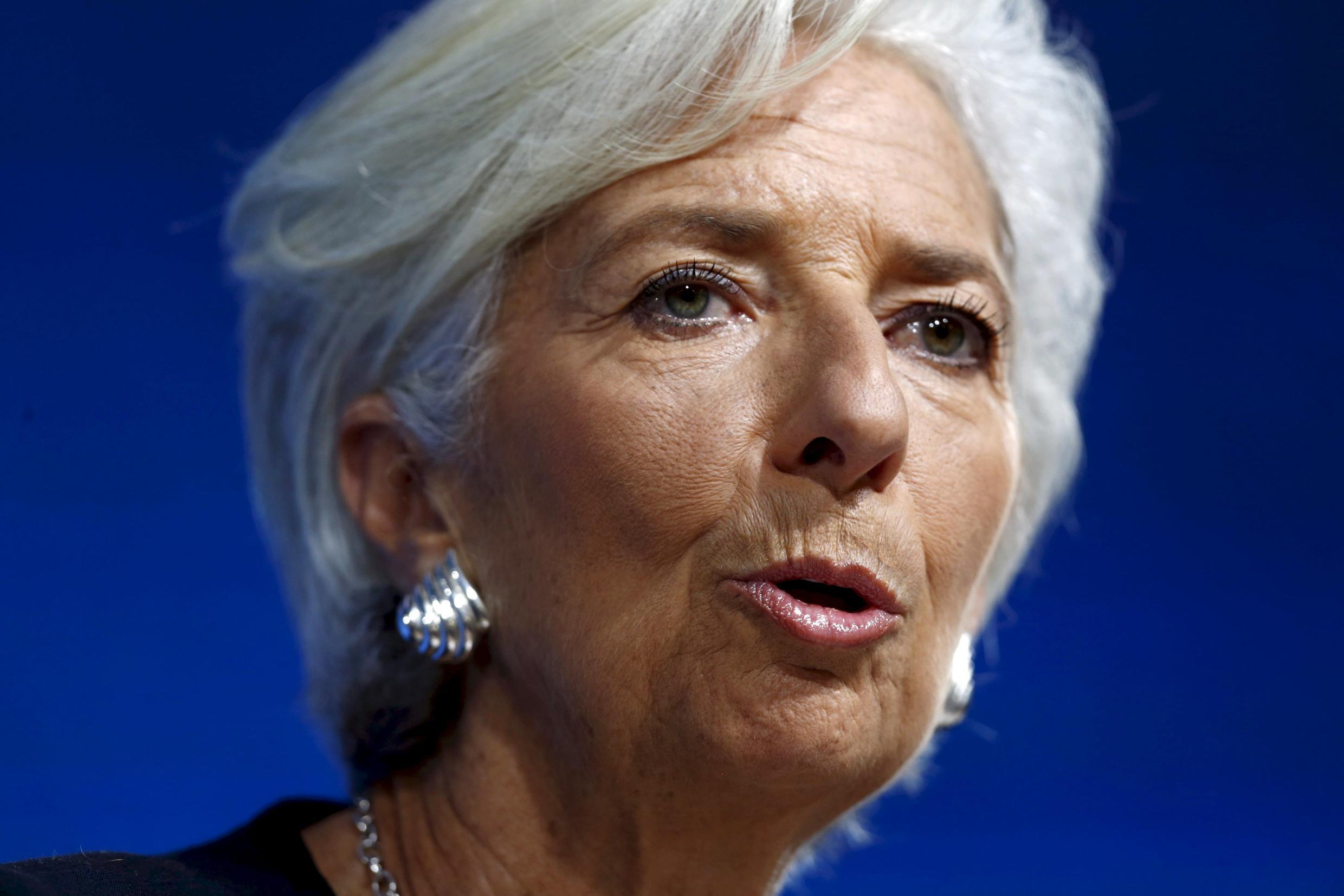 Going for seconds - lMF chief Christine Lagarde