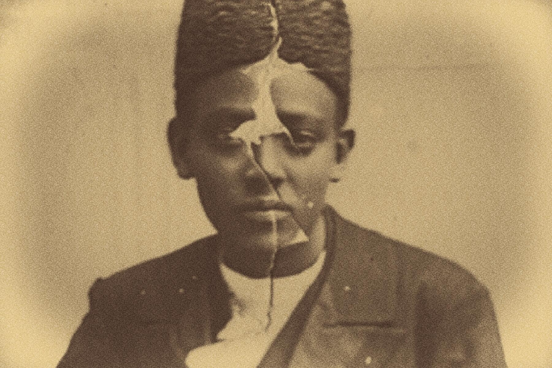 Photographie d'un Afro-Iranien.
