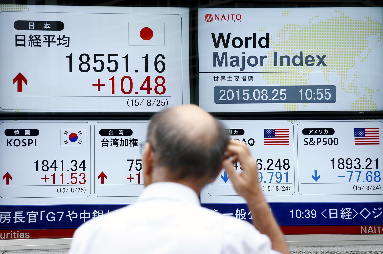 Après un «lundi noir» sur les places financières mondiales, Tokyo et Hong Kong sont repassés dans le vert, bien que Shanghaï soit toujours en recul.