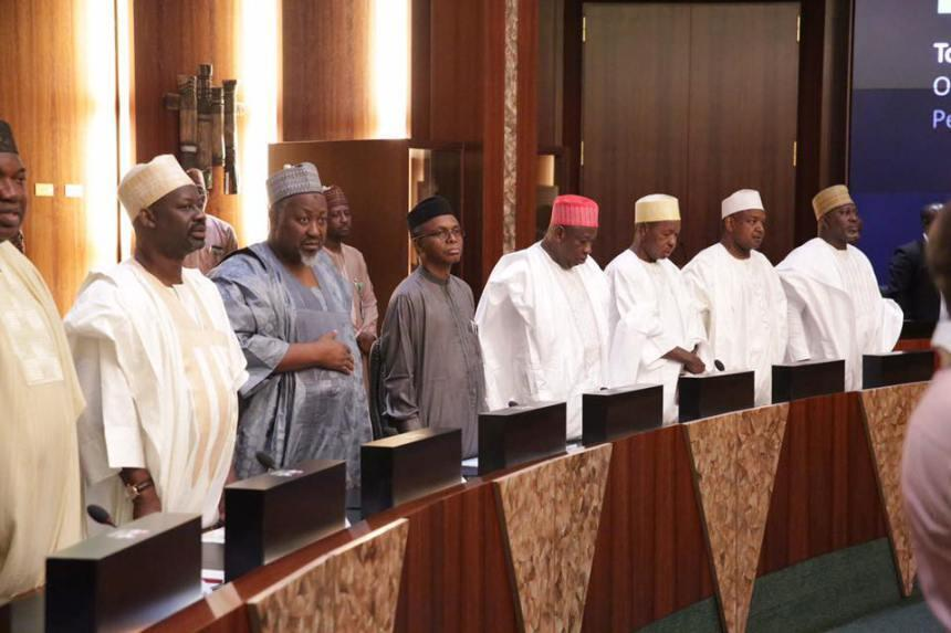 The Nigeria Governors' Forum (NGF) met in Abuja to discuss issues of minimum wage.