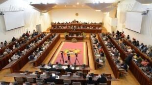 Parlamento moçambicano.