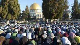 Al-Aqsa Mosque in Jerusalem.