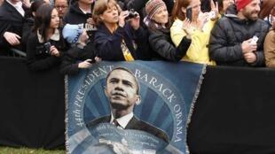 Barack Obama, malmené lors du duel télévisé, était en meeting à Denver, dans le Colorado, le 4 octobre 2012.