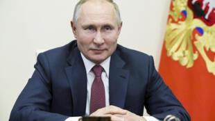 Le président russe Vladimir Poutine, le 30 décembre 2020.