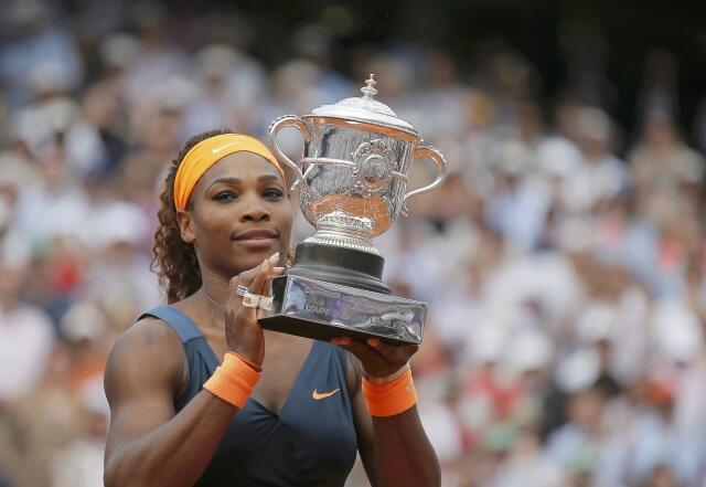 Serena Williams vencedora Roland Garros 2014