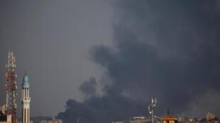 Disparos na Faixa de Gaza.