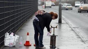 Belfast, en janvier 2011, lors d'une pénurie d'eau.