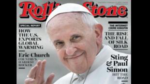 Papa Francisco é capa da revista Rolling Stone