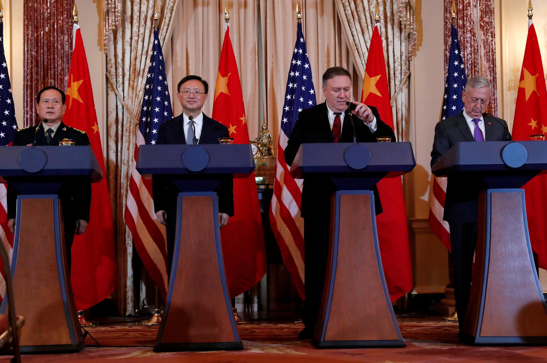第二轮美中外交与安全对话在华盛顿举行