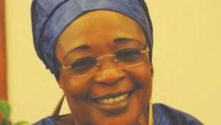 Jacqueline Moudeïna, avocate et présidente de l'association des victimes des crimes et répressions politiques au Tchad.