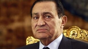 L'ancien président égyptien Hosni Moubarak.